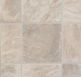 Medium Beige Sandstone Tile 3CE1 heavyduty vinyl